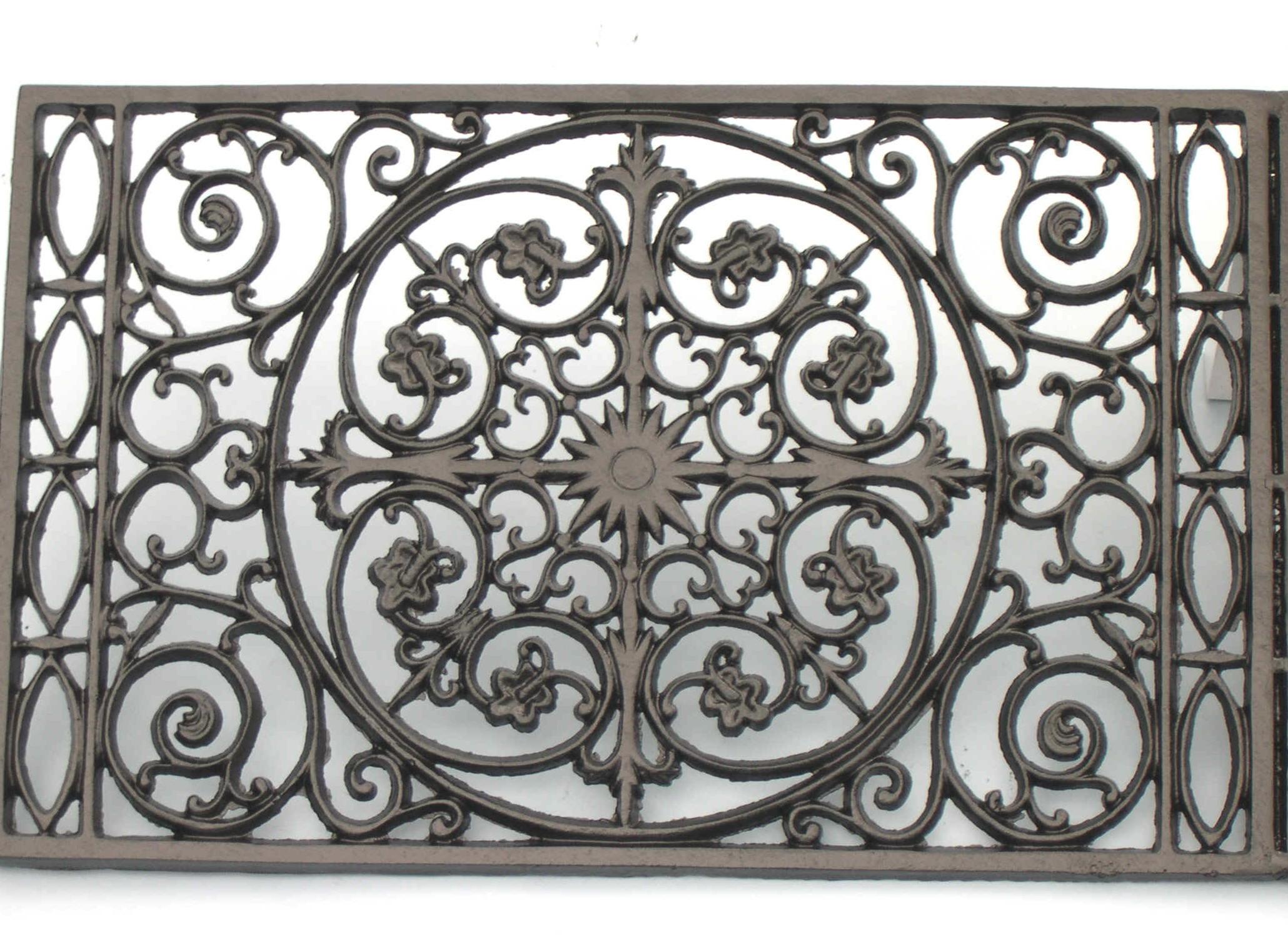 Wrought Iron Doormat 2