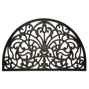Wrought iron doormat 26