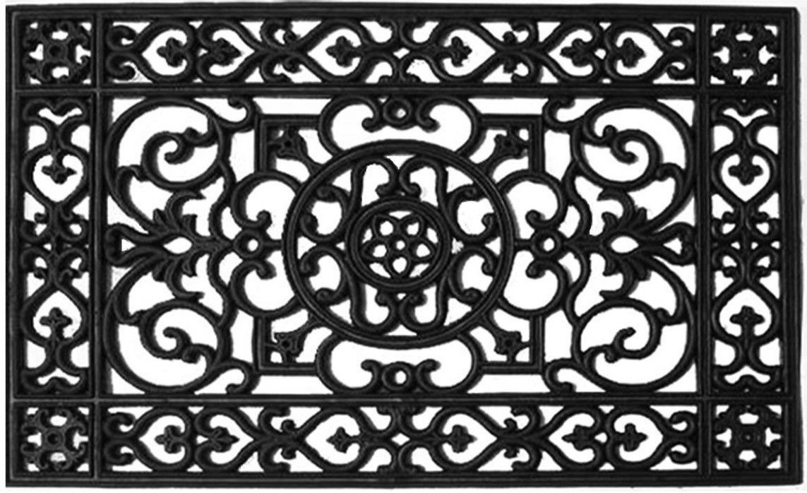 Wrought Iron Doormat 3