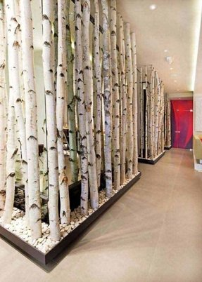 Bamboo partition design