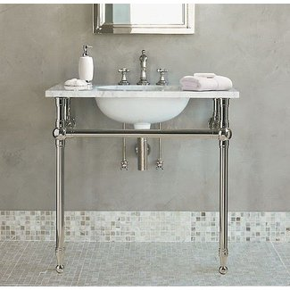 d3d210651dd Console Sink With Metal Legs - Ideas on Foter