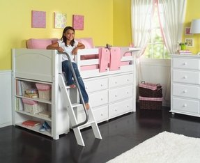 Bed With Dresser Underneath