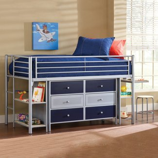 Beds with dressers underneath