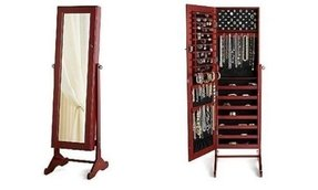 Floor Standing Mirror Jewelry Armoire Ideas On Foter