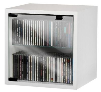 Black Storage Cabinet With Glass Doors