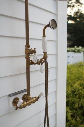 antique brass shower fixtures foter