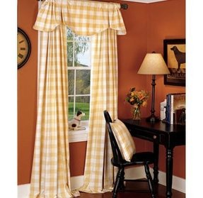 Yellow Plaid Curtains Foter