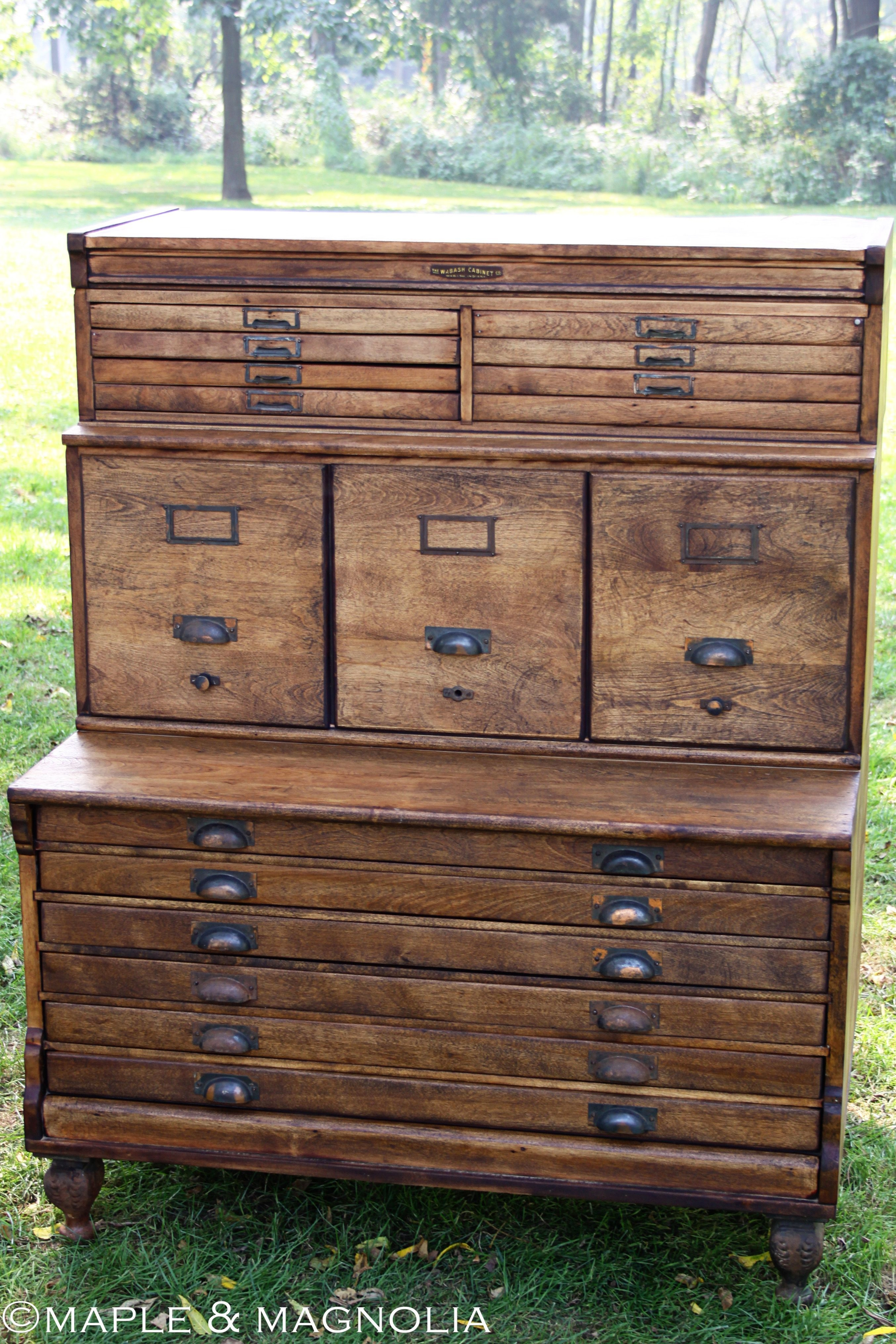 Cabinet With Many Small Drawers 1