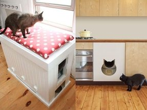 Cat litter box cabinets 5