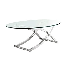 c66be0f0efd56 Glass Chrome Coffee Table - Ideas on Foter