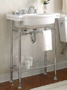 Chrome Sink Legs