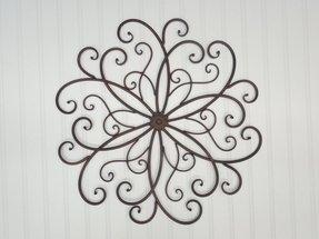 Circular Metal Wall Art