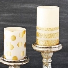 Colored flameless candles 4