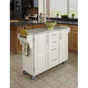 Marble Top Kitchen Island Cart - Ideas on Foter