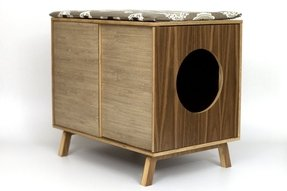 Decorative litter box enclosures