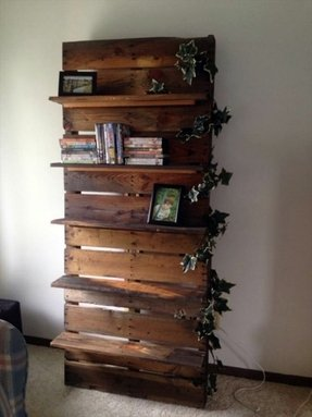 Decorative wood wall shelves 2