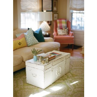 Superb Distressed Trunk Coffee Table Ideas On Foter Onthecornerstone Fun Painted Chair Ideas Images Onthecornerstoneorg