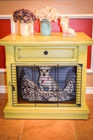 Beau Dog Crate Side Table