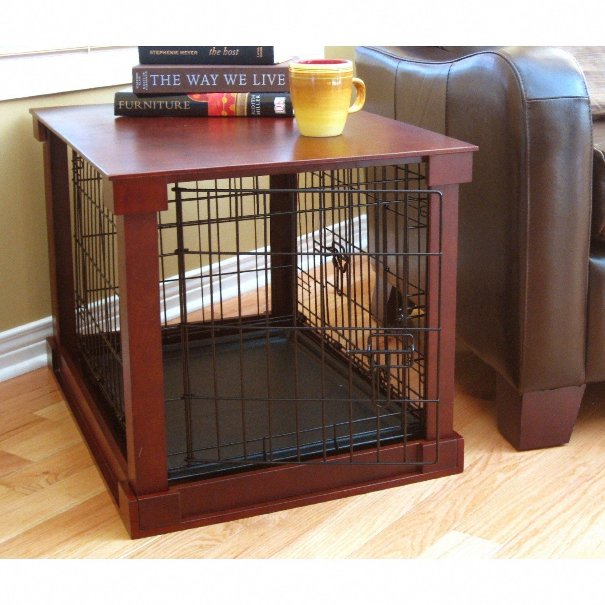 Charming Dog Kennel End Table Plans