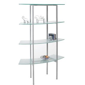 Free standing glass shelves 21