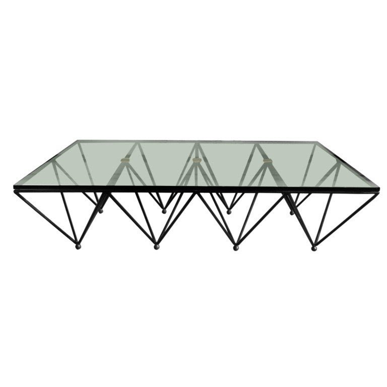Glass Top Coffee Table With Metal Base Foter