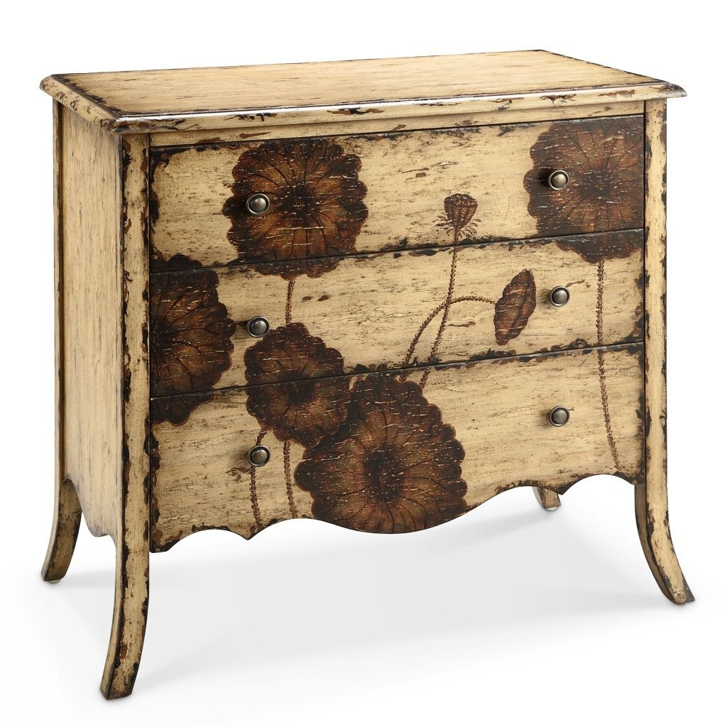 Hand Painted Accent Chest 14
