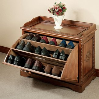 How to make a shoe storage cabinet