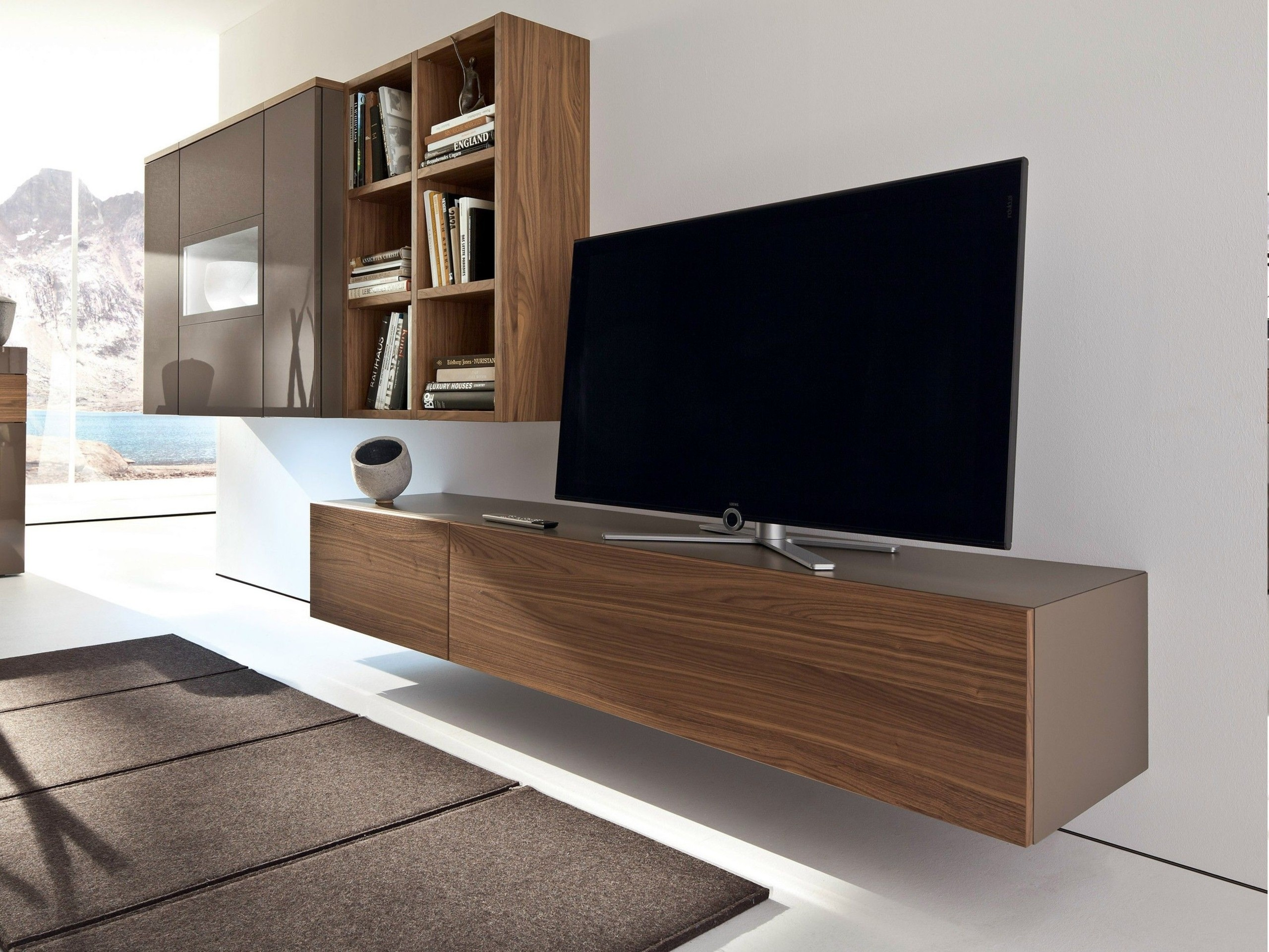 Ideas Brilliant Idea To Save Space By Mounting Tv Wall