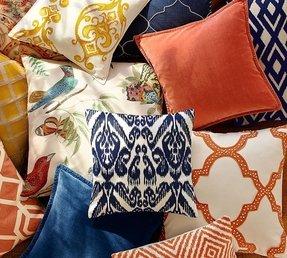 Ikat Decorative Pillows Foter