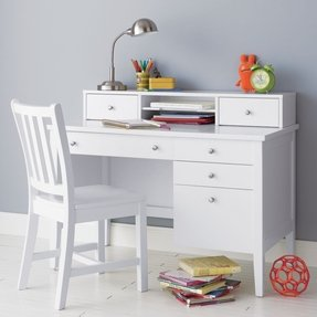 Kids White Desk