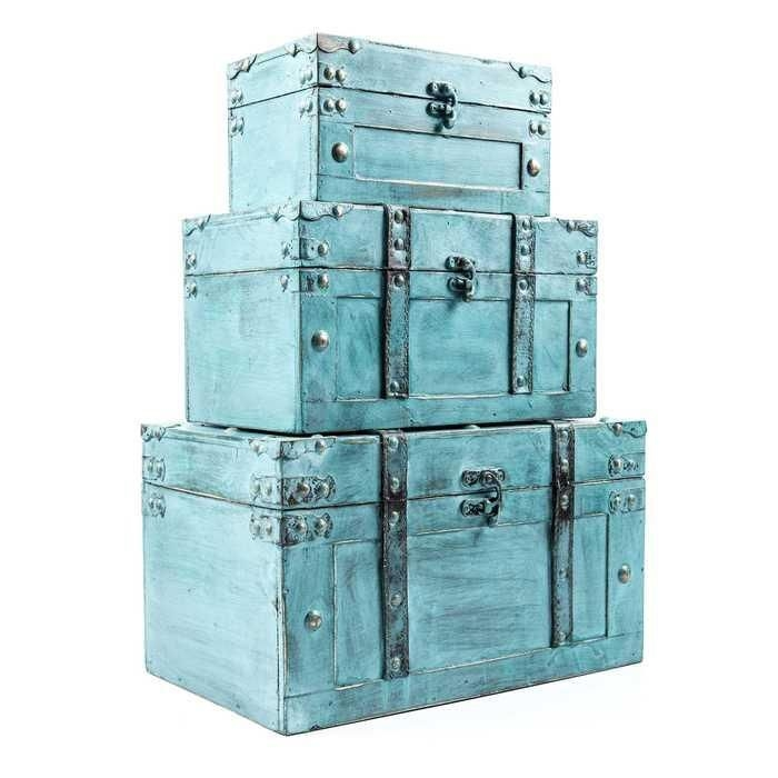 Large decorative storage trunks 2  sc 1 st  Foter & Large Decorative Storage Trunks - Foter