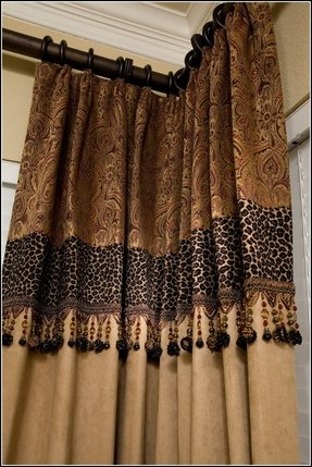 Leopard Print Window Curtains Foter