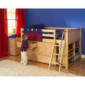 Loft Bed With Dresser Underneath Foter