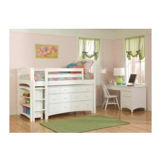 Loft Bed With Dresser Underneath 1