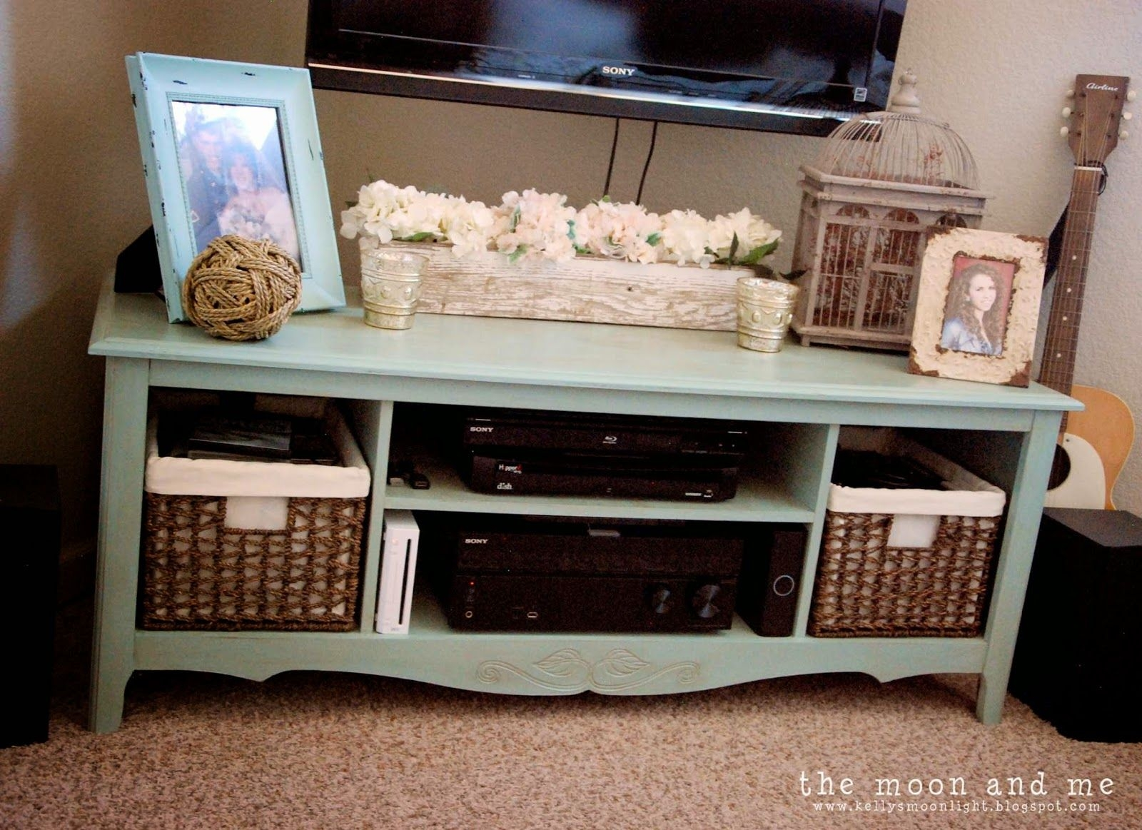 Make dresser into tv stand