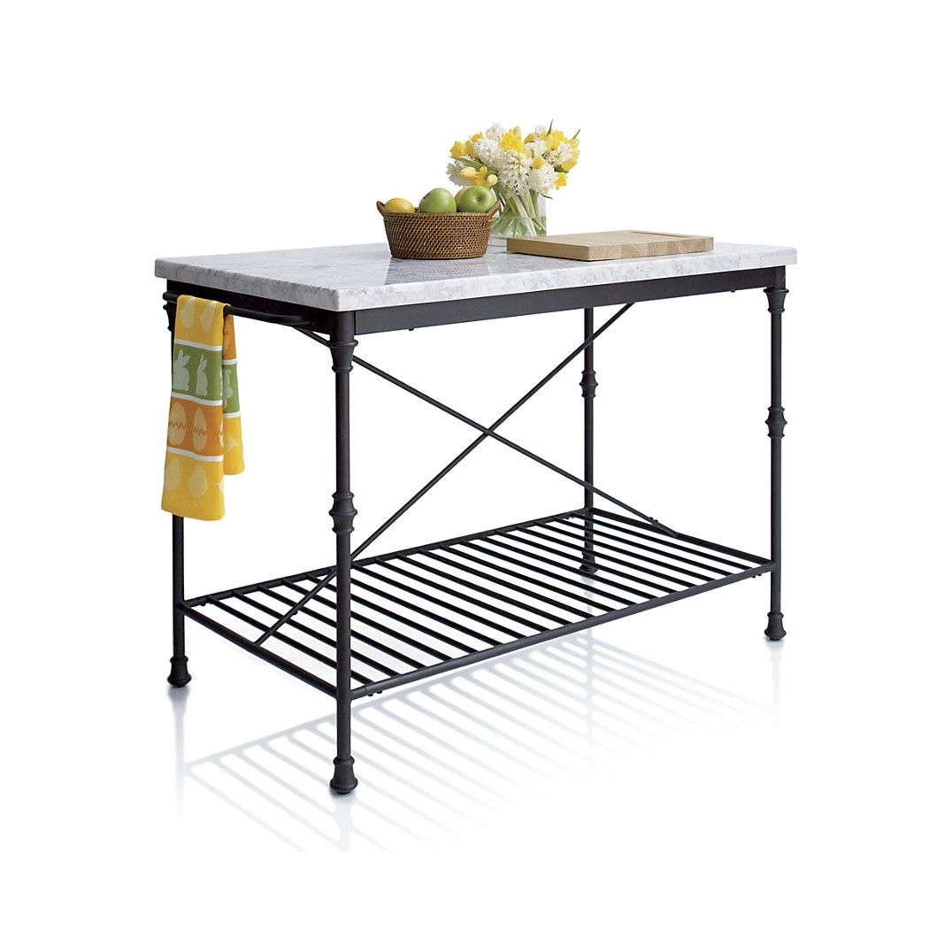 Marble Top Kitchen Work Table