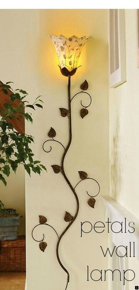 Metal Wall Flower Decor - Foter