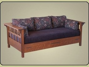 Mission style daybed 1
