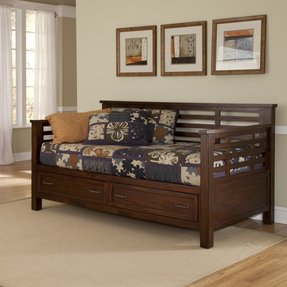 Mission style daybed 23