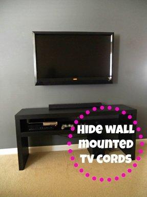 Mounted Tv Wall Decor