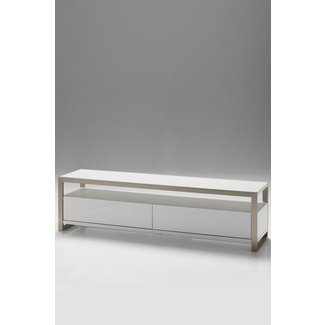 Narrow tv stand for flat screen