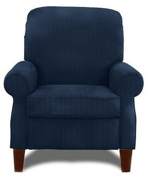 Navy blue recliner 1