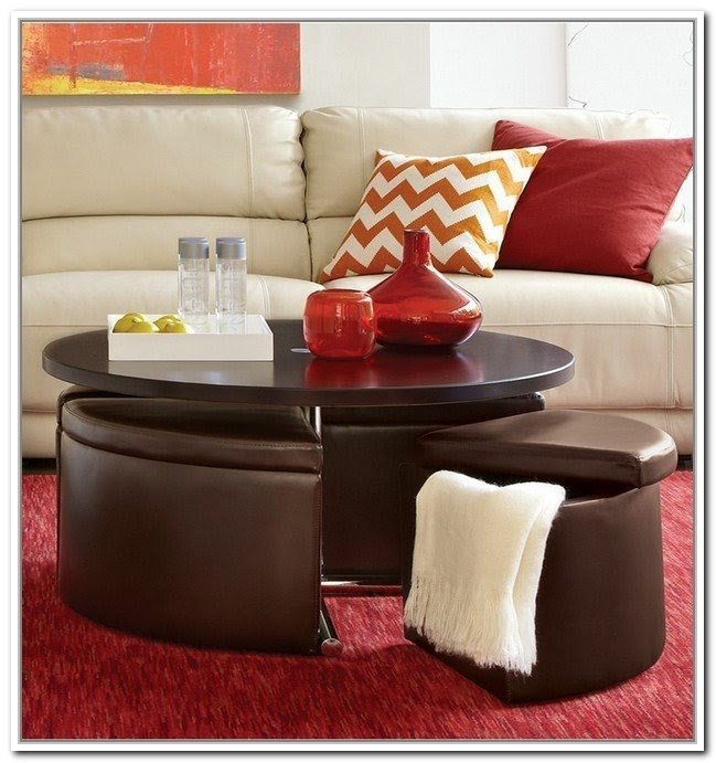 Exceptionnel Coffee Table With Ottomans Underneath   Ideas On Foter