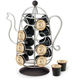 October hill coffee pot spinner k cup holder