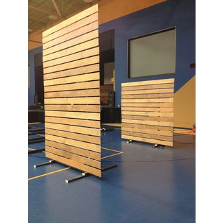 One Panel Room Divider Foter - Floor dividers between rooms