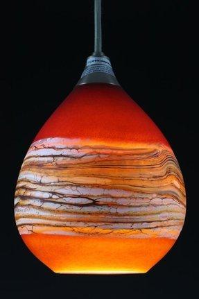 Orange glass lamp foter orange glass lamp aloadofball Gallery