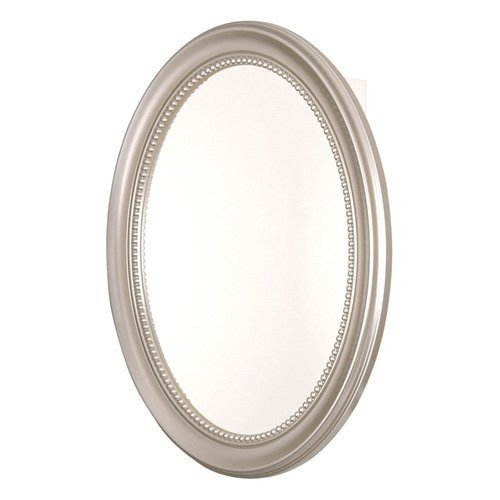 Oval Medicine Cabinet Surface Mount 6