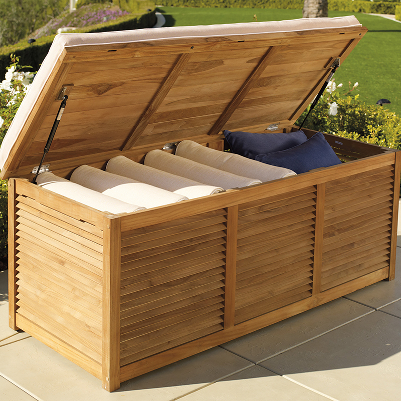 Attractive Patio Furniture Cushion Storage Boxes