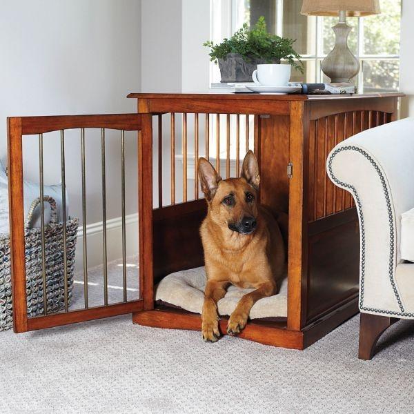 Pet Crate End Table Medium   Improvements