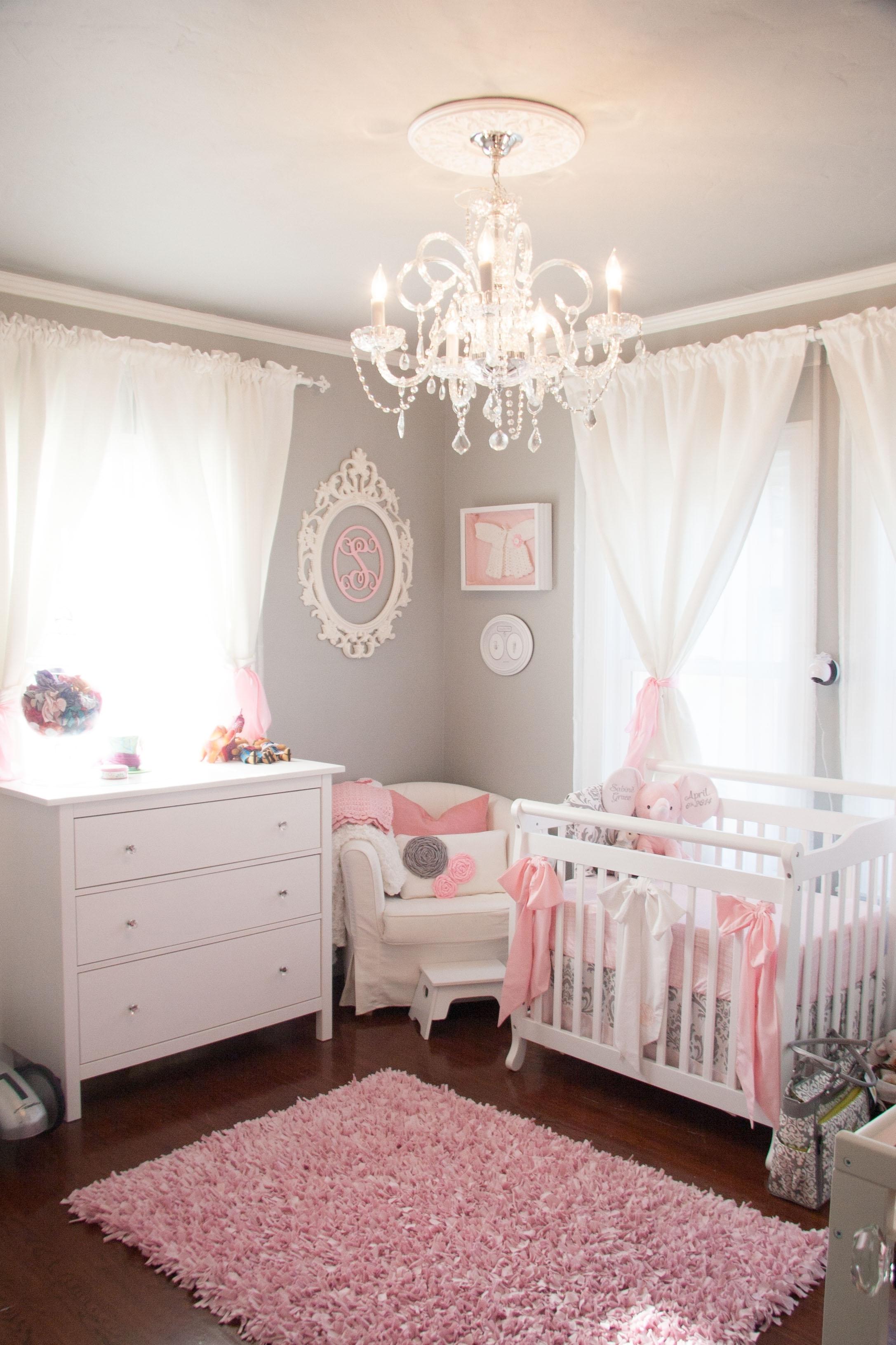 pink chandelier for nursery foter rh foter com Small Chandeliers for Girls Room Bedroom Chandeliers Ideas